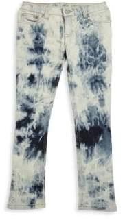 Ralph Lauren Toddler's, Little Girl's& Girl's Marbled Skinny Jeans