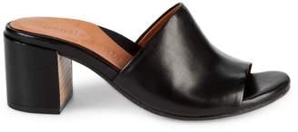 Gentle Souls Chantel Leather Mule Sandals