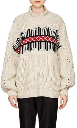Isabel Marant Women's Clotil Folkloric-Pattern Wool Sweater