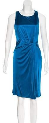 Versace Jersey Knee-Length Dress