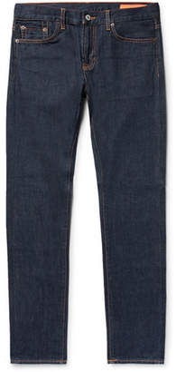 Jean Shop Jim Skinny-Fit Selvedge Rinsed-Denim Jeans