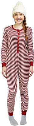 Burt's Bees Baby Women's Candy Cane Holiday Suit