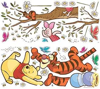 "Disney RoomMates ""Winnie The Pooh Swinging For Honey"" Giant Wall Sticker"