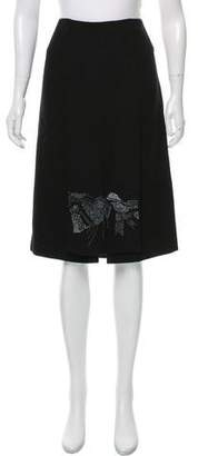 15fdc0fdd5 TSE Embellished Cashmere Skirt w/ Tags
