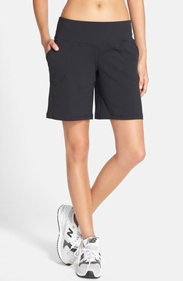 Women's New Balance 'Premium Performance' Sport Bermuda Shorts $65 thestylecure.com