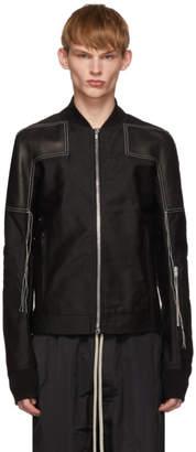 Rick Owens Black Rottersis Bomber Jacket