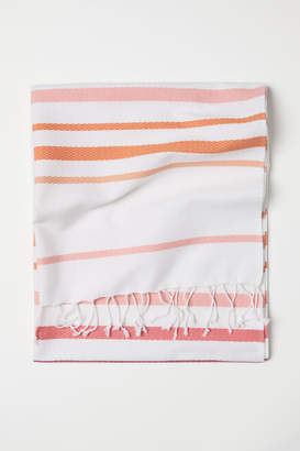 H&M Beach Towel with Fringe - Red
