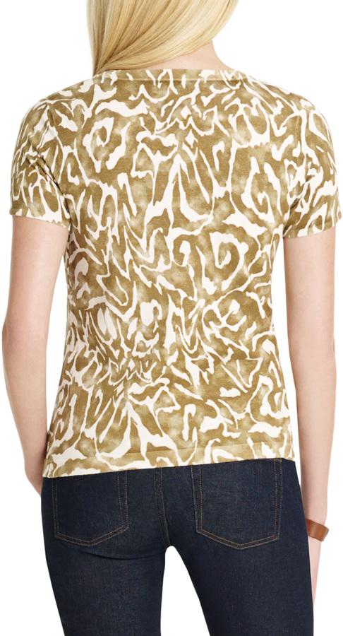 Jones New York Platinum Silk Knit Shell