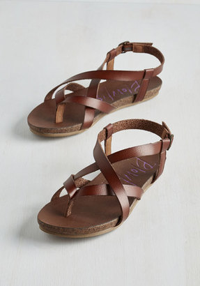 Blowfish LLC Everyday Nonchalance Sandal in Brown $39.99 thestylecure.com
