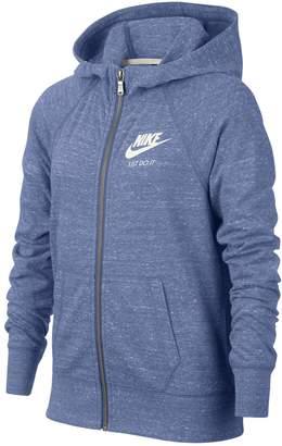 Nike Girls 7-16 Vintage Zip-Up Hoodie