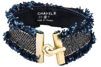 Chanel Blue Carpet Bracelet