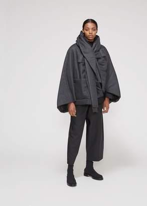 Issey Miyake 132 5 Oversized Pocket Hooded Puffer Jacket