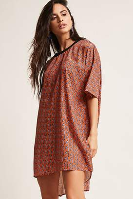 Forever 21 Geo High-Low Dress