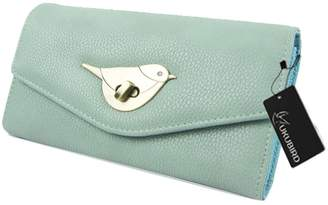 Kukubird Premium Bird Clasp Wallet Large Size Ladies Prom Party Purse Wallet Bag Clutch