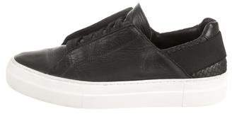 Helmut Lang Leather Low-Top Sneakers