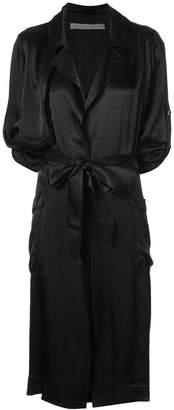 Raquel Allegra tie waist jacket