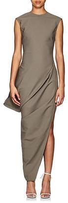 Rick Owens Women's Walrus Crepe Asymmetric Dress