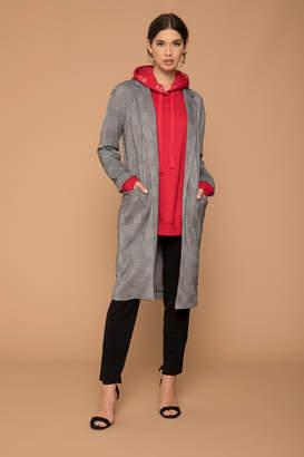 KENDALL + KYLIE Ardene Kendall & Kylie Glen Plaid Formal Slim Coat