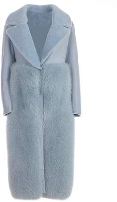 Blancha Fur Paneled Coat