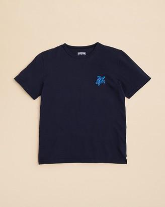 Vilebrequin Cotton Logo Tee $55 thestylecure.com