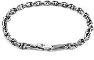 ANCHOR & CREW - Silver Halyard Single Sail Chain Bracelet
