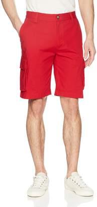 Nautica Men's Classic Twill Cargo Shorts, Red
