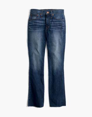 Madewell Petite Cali Demi-Boot Jeans in Marco Wash