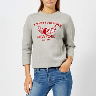 Tommy Hilfiger Women's Abian Crew Neck Sweatshirt