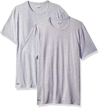 Lacoste Men's 2-Pack Colours Cotton Stretch Crew T-Shirt