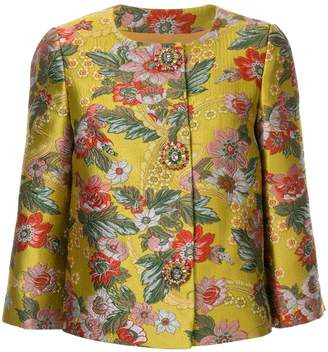 Andrew Gn brocade cropped jacket