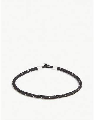 Miansai Nexus sterling silver rope bracelet
