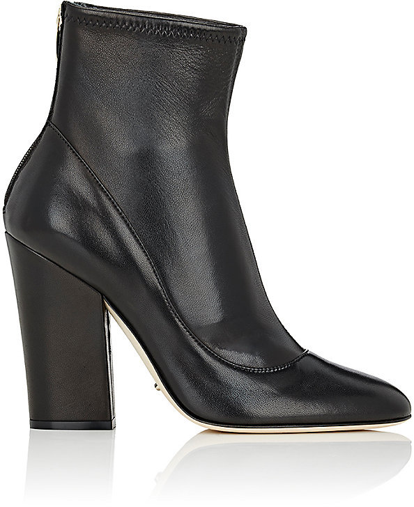 Sergio Rossi Women's Virginia Leather Ankle Boots