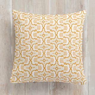 Polka Parade Square Pillow