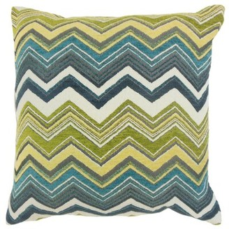 The Pillow Collection Hateya Zigzag Throw Pillow The Pillow Collection