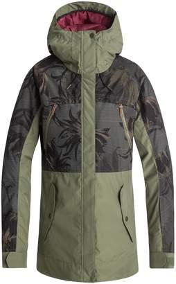 Roxy Waterproof DryFlight(R) Thinsulate(R) Insulated Snow Jacket