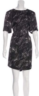 Michael Kors Printed Knee-Length Dress w/ Tags