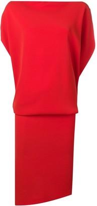 Poiret draped top dress