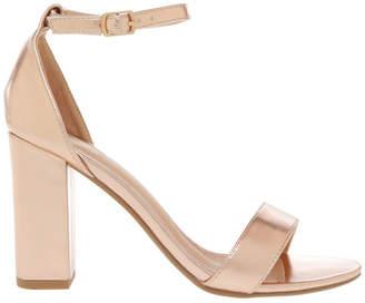 Miss Shop Madison Rose Gold Sandal