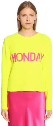 Alberta Ferretti Monday Wool & Cashmere Sweater