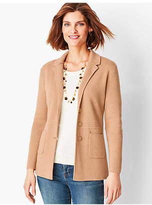 Talbots Merino Sweater Jacket