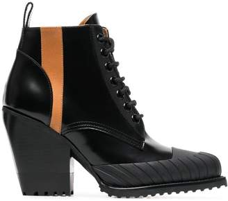 dae3bb3d4161 Chloé Black Leather Women s Boots - ShopStyle