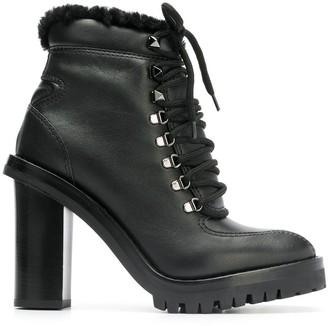 Valentino Garavani lace-up boots