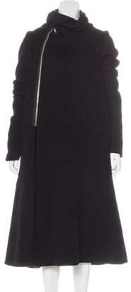 Rick Owens Cashmere & Wool Coat