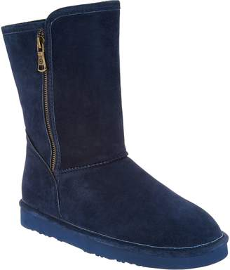 Lamo Water and Stain Resistant Suede Boots - Juniper