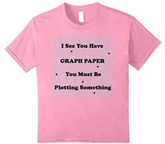 I See You Have Graph Paper Shirt | Math Pun T-shirt