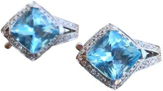 Mauboussin Blue White gold Earrings