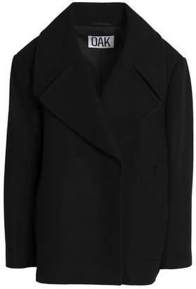 OAK Double-Breasted Wool-Blend Jacket