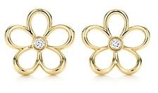 Tiffany & Co. Garden Open Flower Earrings
