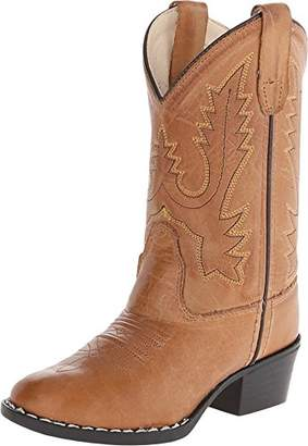 Old West Kids Boots Round Toe Western Toddler/Little