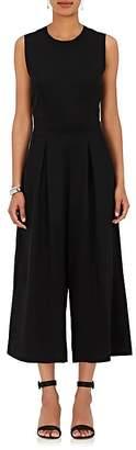 Barneys New York Women's Organza-Back Crepe Jumpsuit